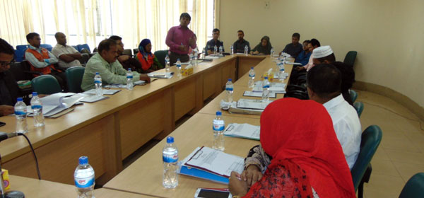 a.Programme Coordinator- Md. Abdus Sabur of YPSA-CLS shared the program interventions and milestones of project.