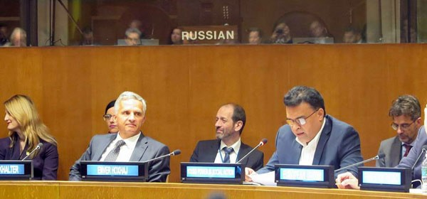 Chief Executive of YPSA Md. Arifur Rahman has attended 71st session of the United Nations General Assembly in New York.