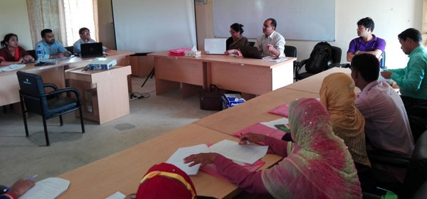 Orientation of Baseline Study for CEVEC project held