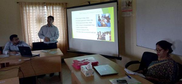 PowerPoint presentation on YPSA baseline study orientation