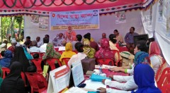 the inaugural of the health camp