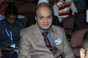 Vashkar Bhattacharjee at the function