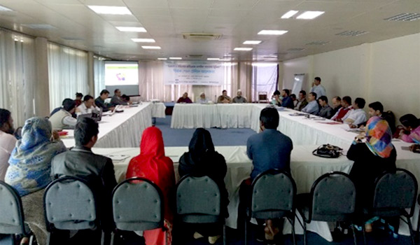 "Roundtable meeting on ""The role of civil society in curving Violent and Extremism."""
