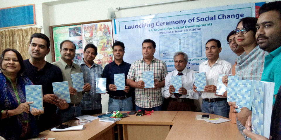 Launching Ceremony of Social Change volume 6