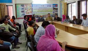 Launching program of the training workshop