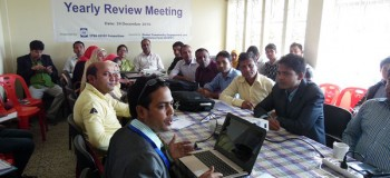 YPSA CEVEC Project Yearly Review Meeting held at Cox's Bazar