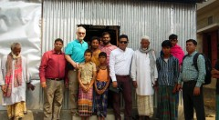 Habitat for Humanity Bangladesh Country Director visits YPSA in Banshkhali