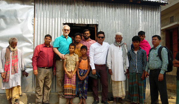 Habitat for Humanity Bangladesh Country Director visits YPSA in Banshkhali