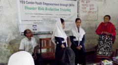 School based disaster risk reduction training held at Ramu