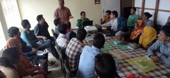 YPSA-CEVEC Project M&E Training held at Cox's Bazar