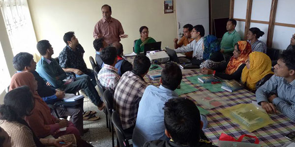 YPSA-CEVEC Project M&E Training held at Cox's Bazar