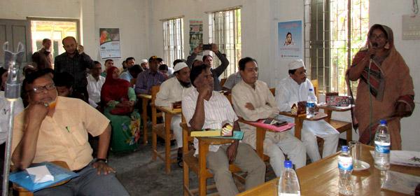 Upazila CTC Members Orientation at Banskhali