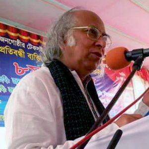 Dr. Qazi Kholiquzzaman Ahmad, Chairman of Palli Karma-Sahayak Foundation (PKSF).