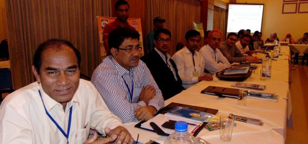 ULAC Chairman of Lalanagar Union made a discussion on Regional Sharing Meeting