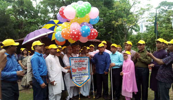 Inauguration of 8th annual convention of disable people organizations