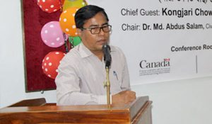 Dr. Sanjib Tripura, Panchari upazila health and family welfair officer