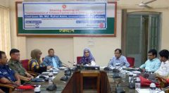 "sharing meeting on ""Implementation of Tobacco control Law in Chittagong division"""