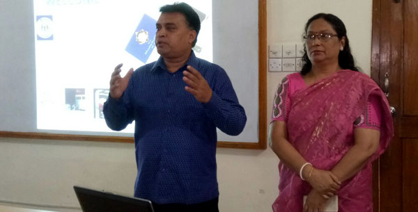 Presentation session