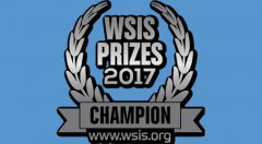 Logo : WISIS PRIZES 2017 CHAMPION