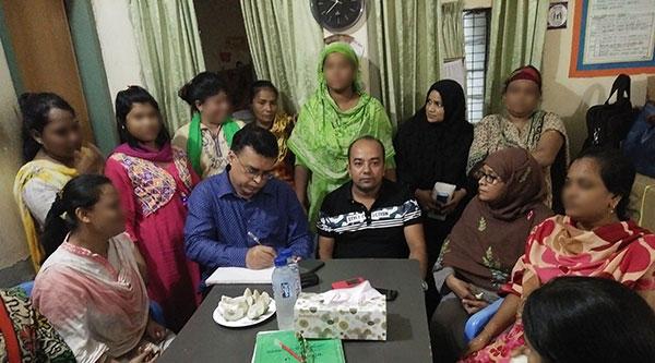 . Arifur Rahaman, Chief Executive of YPSA has visited in Ibrahimpur Drop in Center, Dhaka
