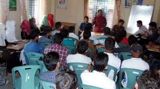 Management training for new batch started at YES Center Cox's Bazar