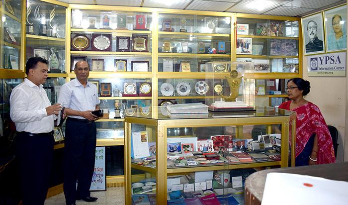 Director of NGO Affairs Bureau visits YPSA   YPSA