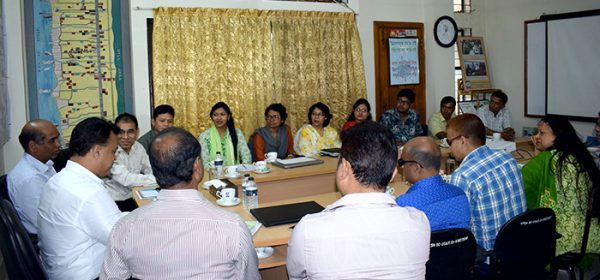 Sharing meeting with Gokul Krishna Ghosh, Director of NGO Affairs Bureau (Joint Secretary), Prime Minister's Office of Bangladesh which was held at the YPSA Head Office, Chittagong
