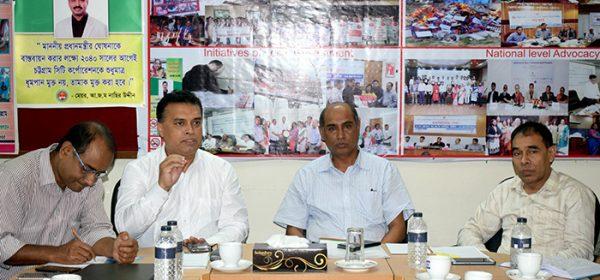 Director of NGO Affairs Bureau has visited YPSA, Head Office, Chittagong
