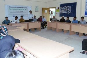 Discussion meeting on International Youth Day' 2017 at the YPSA YES Center, Ramu, Cox'sbazar