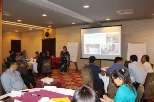 Presentation in the workshop