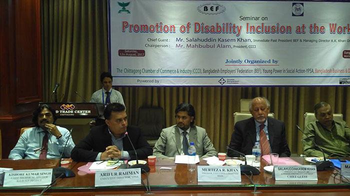 speech by Chief Executive of YPSA Md. Arifur Rahman