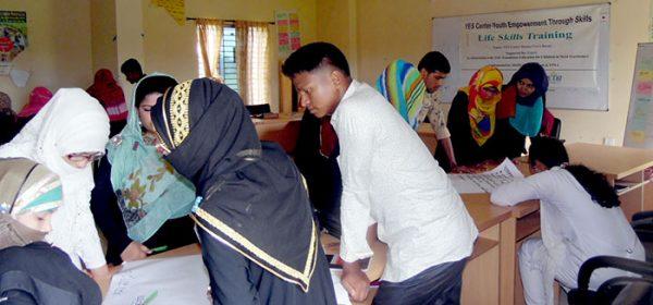 Life Skills Training in YES CENTER, Ramu, Cox's Bazar by YPSA