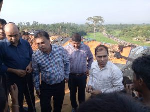 YPSA's senior management visits Rohingya refugee camps