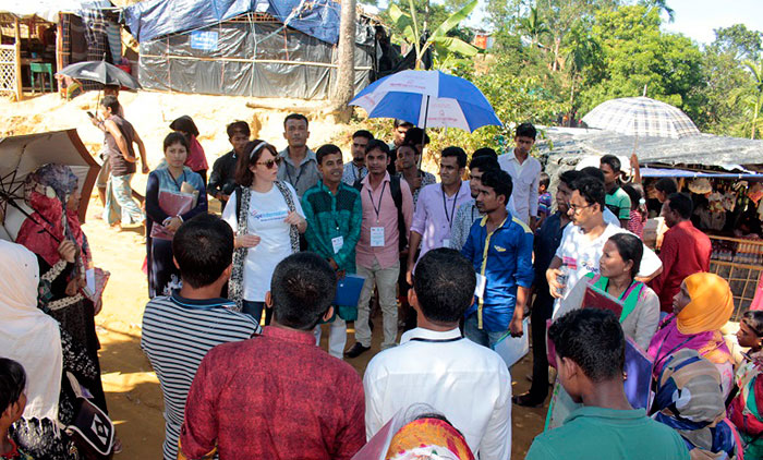 Rapid Need Assessment on elderly displaced Rohingya starts