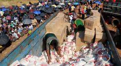 Food distribution by YPSA