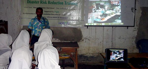 YES Center under Youth Empowerment Through Skills Project run by YPSA and Hope87 Bangladesh Consortium, organized a three-day long training workshop on Disaster Risk Reduction