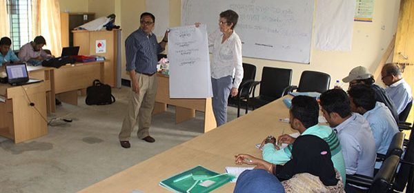 The training was conducted by Ms. Dianna Joy Hiscock, Global Disability Advisor, HelpAge International