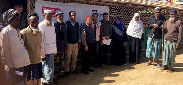 PKSF senior team visits YPSA Age Friendly PKSF senior team visits YPSA Age Friendly Space for RUHINGA people