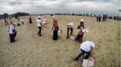 A beach campaign by YPSA 4