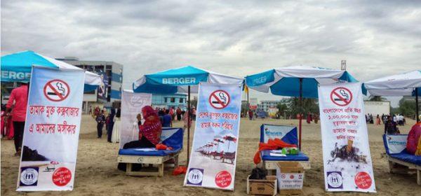 A beach campaign by YPSA 1