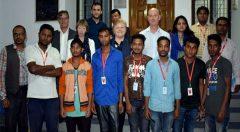 UK and others Ambassadors talk with beneficiaries at Cox's Bazar Sadar