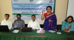 IOM Higher Official made a speech on financial literacy course on Cox's Bazar