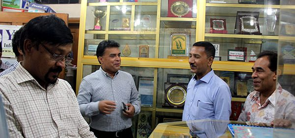 DG, BNFE visits YPSA Information Center