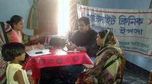 satellite clinic to provide health care to elderly people