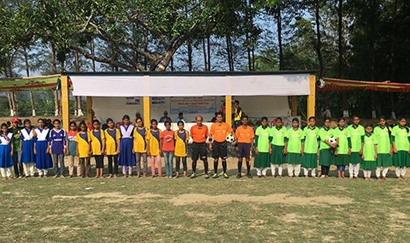 Football team group photo