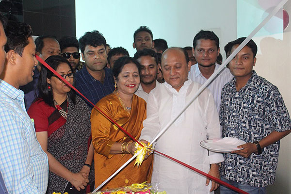 Shaimum Sarwar Kamal, honorable Member of Parliament of Cox's Bazar inaugurated the Job Fair