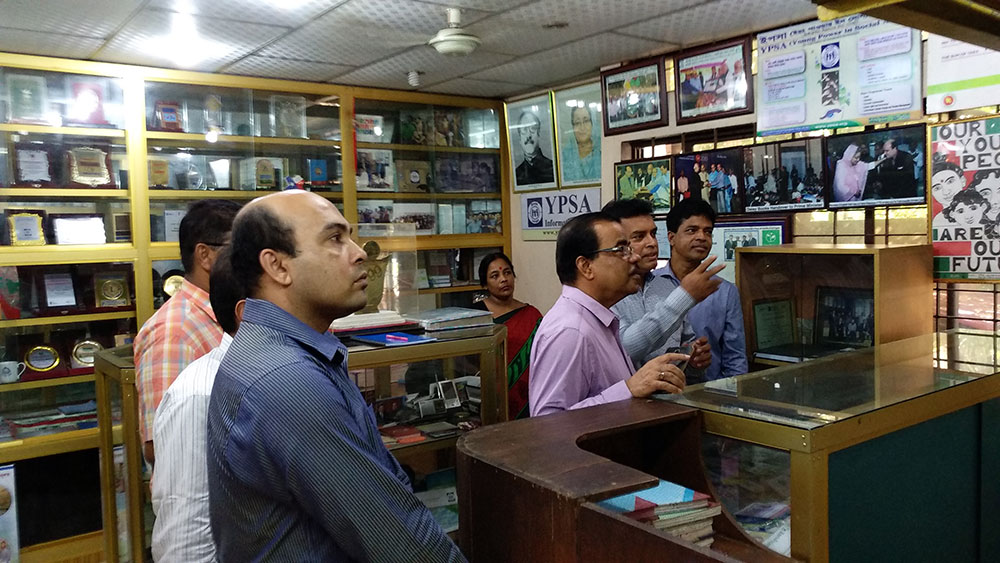 Executive Vice Chairman of Microcredit Regulatory Authority visits YPSA Information Center at Chittagong 2