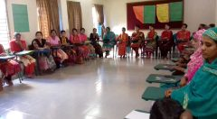 A 5-day subject-based basic training workshop for teaching assistants was arranged by YPSA at Rangamati