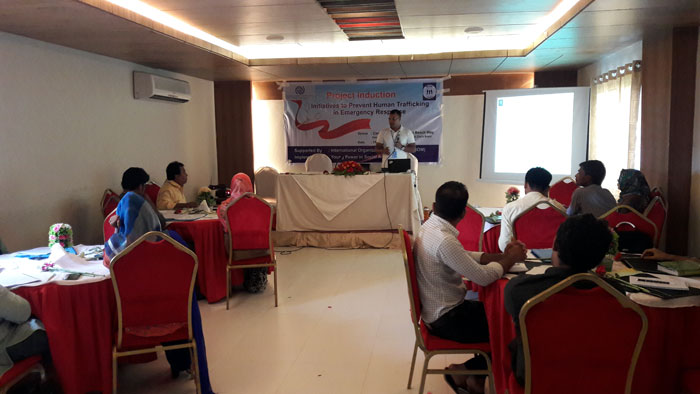 Project induction workshop IMO YPSA