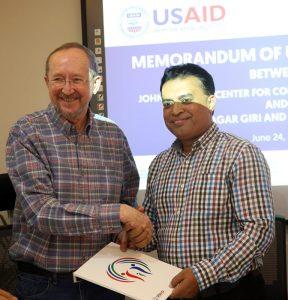 YPSA USAID MoU signing